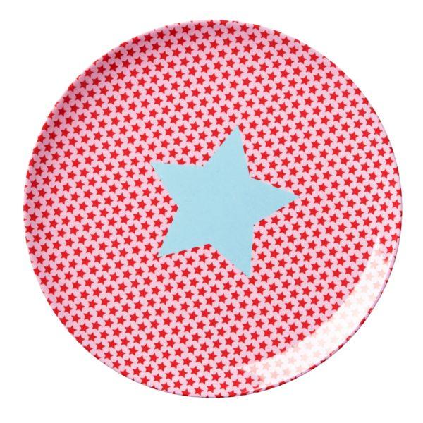 Kid-star-print-lunch-plate-KILPL-STARG_1