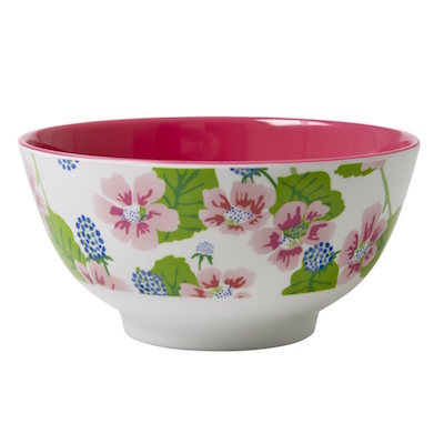 Blossom and Berries Print Bowl RICE DK