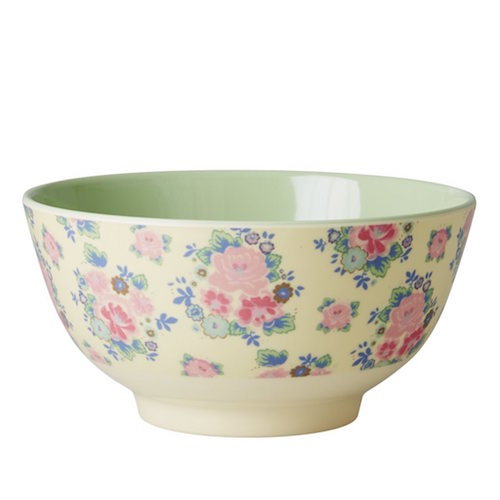Dutch Rose Print Bowl RICE DK