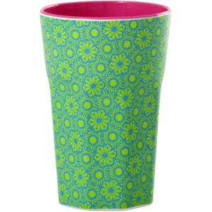 Green and Turquoise Marrakesh Print Latte Cup RICE DK