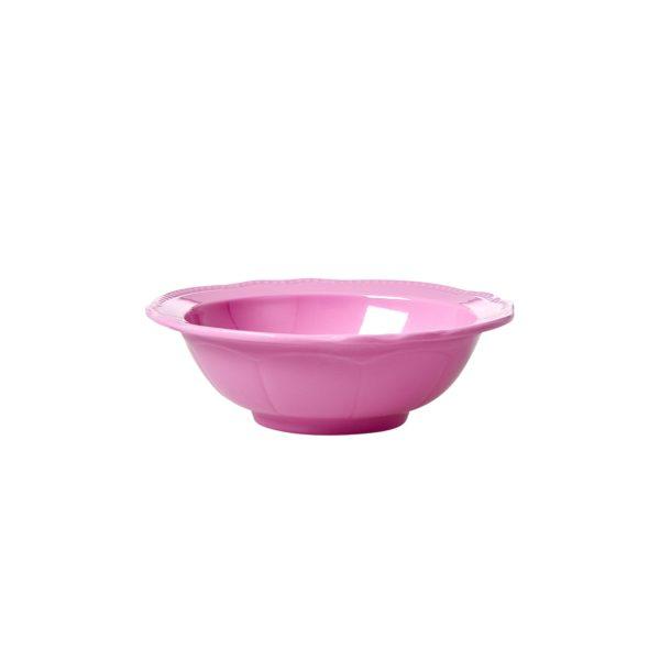 New Look Small Bowl Dark Pink RICE DK
