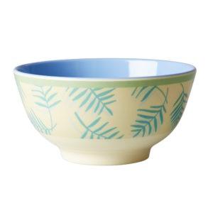 Palm Leaf Print Bowl RICE DK