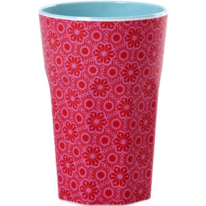 Red and Pink Marrakesh Print Latte Cup RICE DK