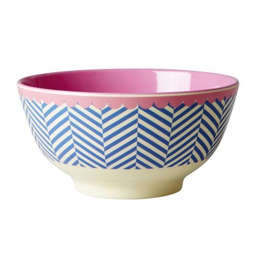 Sailor Stripe Print Bowl RICE DK