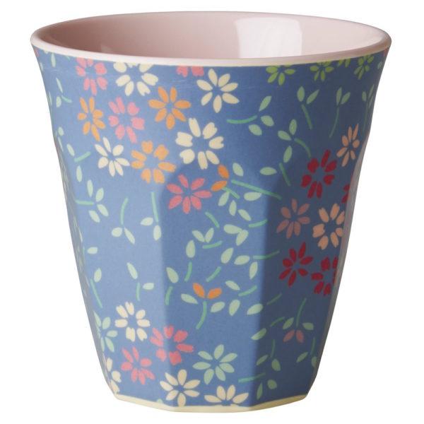 Wild Flowers Print Medium Cup RICE DK