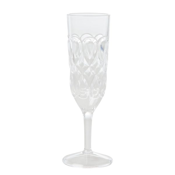 Clear Champagne Flute