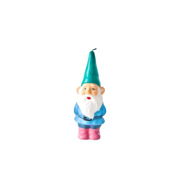 RICE Gnome Candle Green Hat