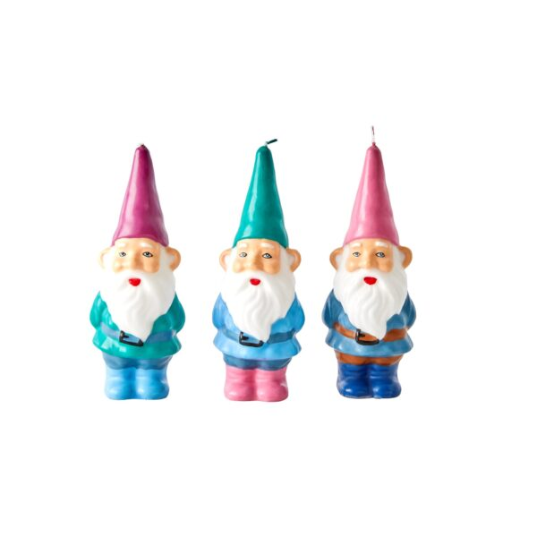 RICE Gnome Candles all colours