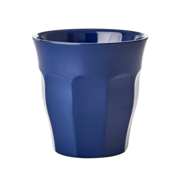 Set of 6 Medium Melamine Cups Simply Yes Colours Dark Blue