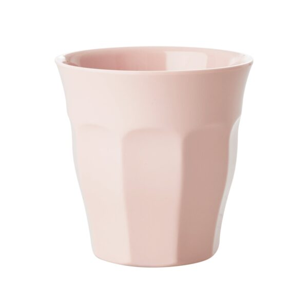 Set of 6 Medium Melamine Cups Simply Yes Colours Pale Pink