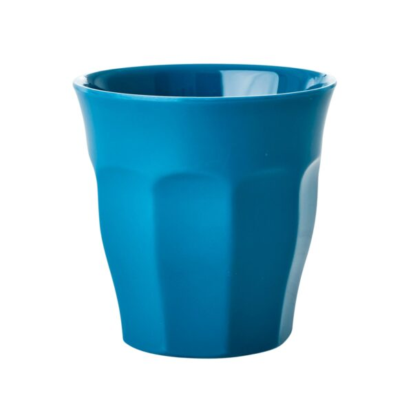 Set of 6 Medium Melamine Cups Simply Yes Colours Sea Blue