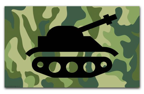Tank – Let's Go Flag