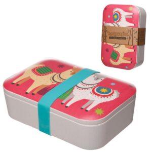 Llama Lunch Box 2 - Bamboo BAMB37_001_1600869780