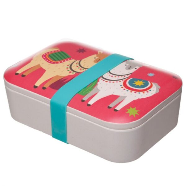 Llama Lunch Box - Bamboo BAMB37_002_1600869780