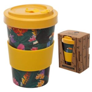 Toucan Party Reusable Screw Top Travel Mug - Bamboo BAMB59_001_1599612931
