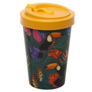Toucan Party Reuseable Screw Top Travel Mug 2 - Bamboo BAMB59_004_1599612931