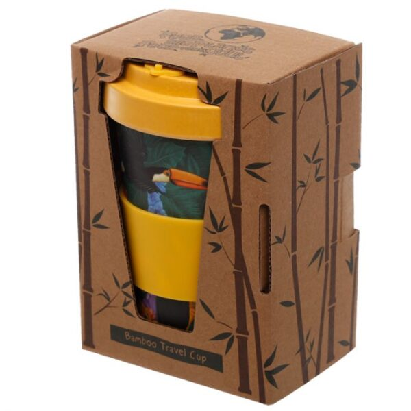 Toucan Party Reuseable Screw Top Travel Mug 2 - Bamboo BAMB59_005_1599612931