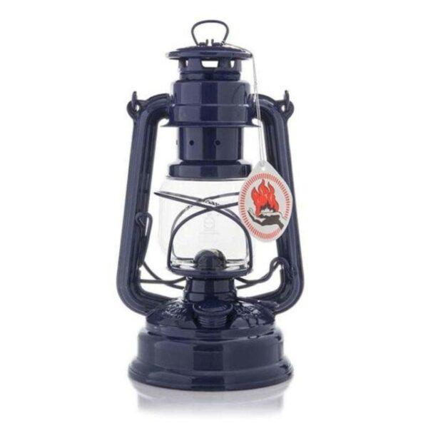 cobalt blue feuerhand lantern