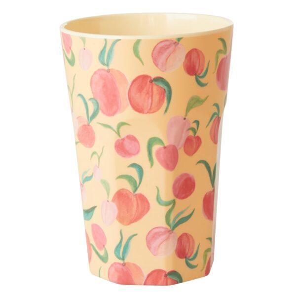 Apricot-Peach Latte Cup