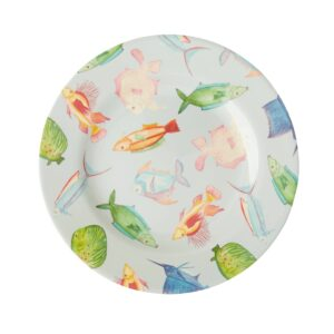 Soft Blue Fish Plate MESPL-FIS_1_2000