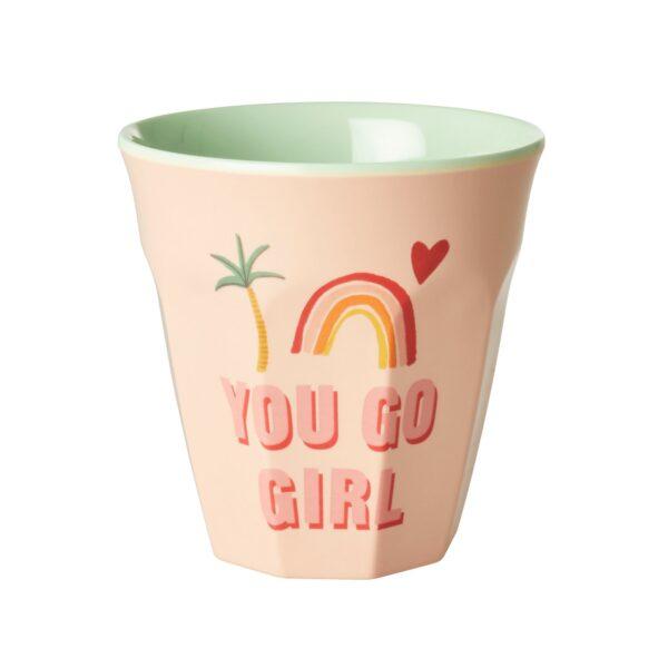 You Go Girl Print Cup MELCU-YGG_1_2000
