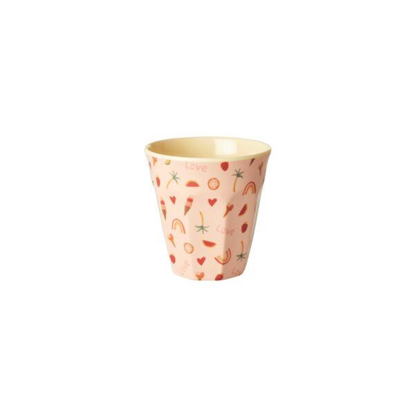 small melamine cups goldfish print f