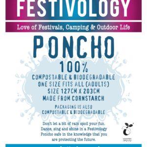 Festivology Poncho Insert