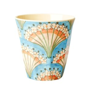 Rice Melamine Cup Fan Print