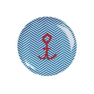Sailor Stripe with Anchor Plate