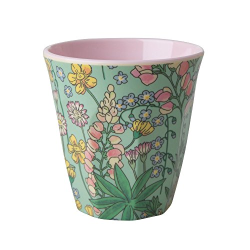 RICE-Melamine-Cup-Two-Tone-with-Lupin-Print-B078W8KFKD