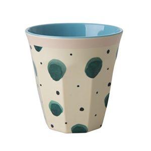 RICE-Melamine-Cup-Two-Tone-with-Watercolor-Splash-Print-B078W948MC